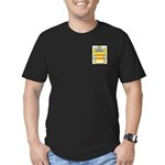 Chazotte Men's Fitted T-Shirt (dark)