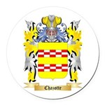Chazotte Round Car Magnet