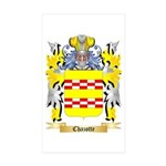 Chazotte Sticker (Rectangle 50 pk)