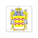 Chazetti Square Sticker 3