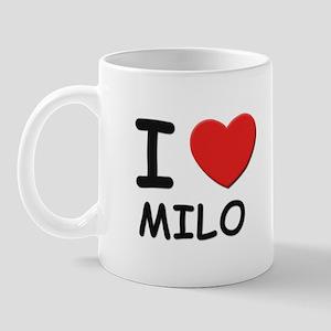 I love Milo Mug
