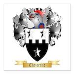 Chazerand Square Car Magnet 3