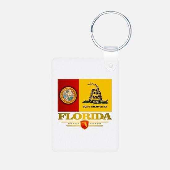 Florida Gadsden Flag Keychains