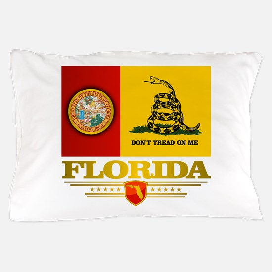 Florida Gadsden Flag Pillow Case