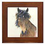 Dark Horse Framed Tile
