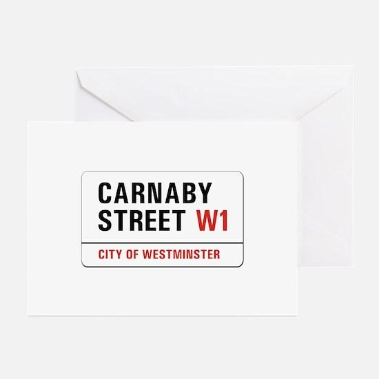 Carnaby Street, London - UK Greeting Cards (Packag