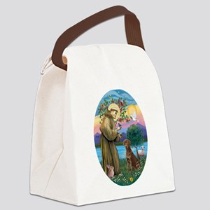 StFrancis-Choc Lab Canvas Lunch Bag