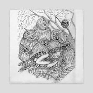 Owl Dream Queen Duvet