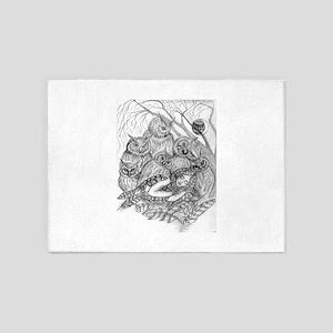 Owl Dream 5'x7'Area Rug