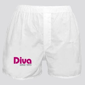 Diva Since 1973 Boxer Shorts