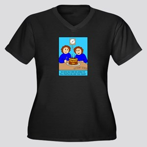 Looney Twins How Old Plus Size T-Shirt