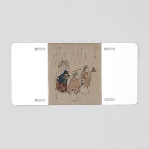 Kosetsu - The Jewelled Well - 1820 - Woodcut Alumi