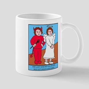 Looney Twins Good and Evil Mug