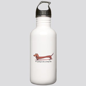 Long Day Dachshund T-Shirt Water Bottle