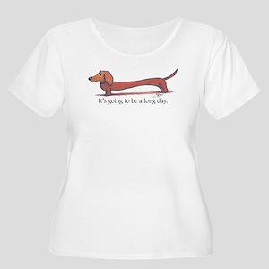Long day Dachshund Plus Size T-Shirt