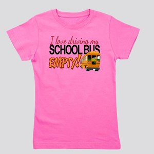 Bus Driver - Empty Bus Girl's Tee