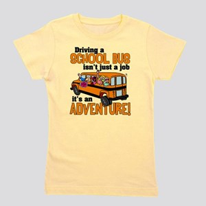 Driving a School Bus Girl's Tee