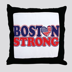 Boston Strong Throw Pillow