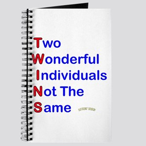 Looney Twins T-W-I-N-S Journal