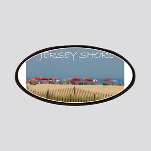 Jersey Shore Beach Umbrellas Patch