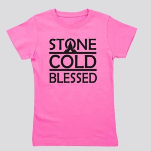 Stone Cold Blessed Girl's Tee