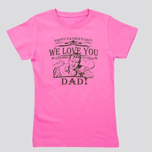 we-love-you-distress Girl's Tee