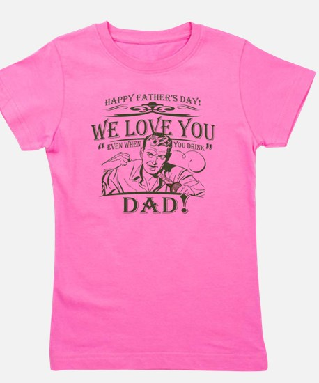 we-love-you-distress.png Girl's Tee