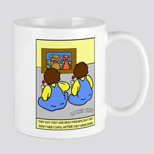 Looney Twins Best Friends Mug