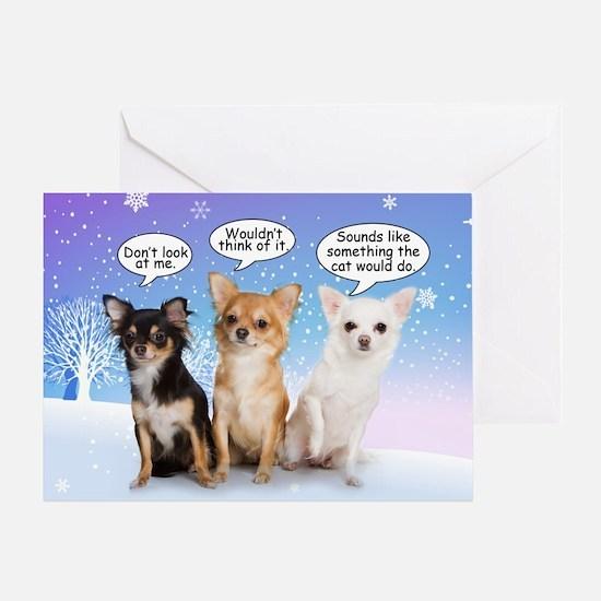Funny Chihuahua Christmas Card