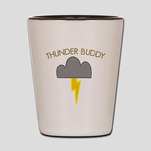 Thunder Buddy Shot Glass