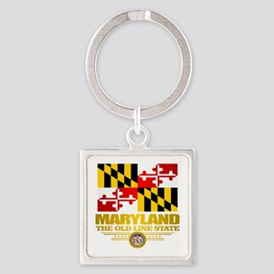 Maryland Pride Keychains