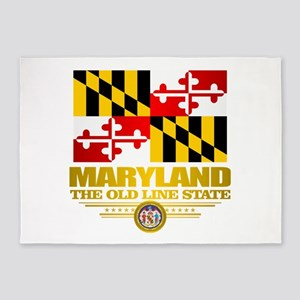 Maryland Pride 5'x7'Area Rug