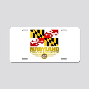 Maryland Pride Aluminum License Plate