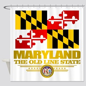 Maryland Pride Shower Curtain