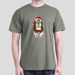 PBGV Christmas Dark T-Shirt