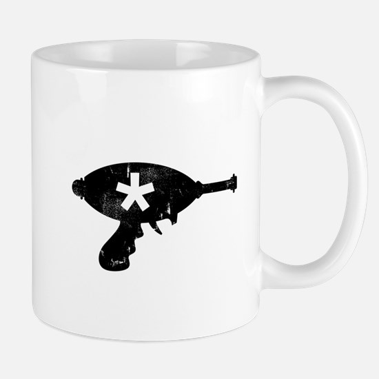 Enchanted Retro Raygun Icon Mug