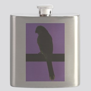 Parrot- purple Flask