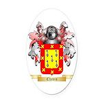 Chavis Oval Car Magnet