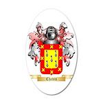 Chavis 35x21 Oval Wall Decal