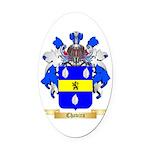 Chavira Oval Car Magnet