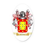 Chavez Oval Car Magnet
