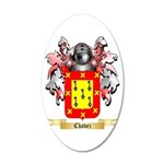 Chavez 20x12 Oval Wall Decal