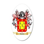 Chavez 35x21 Oval Wall Decal