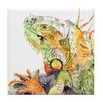 Iguana #3 Tile Coaster
