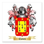 Chaves Square Car Magnet 3