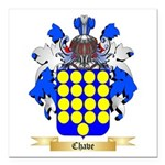 Chave Square Car Magnet 3