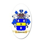 Chavarria 20x12 Oval Wall Decal