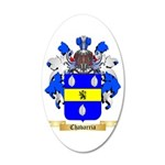 Chavarria 35x21 Oval Wall Decal
