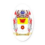 Chavanes Oval Car Magnet