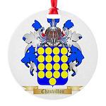 Chauvillon Round Ornament
